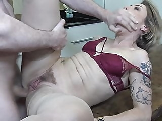 Mother gets rough anal sex from son amateur anal blowjob video