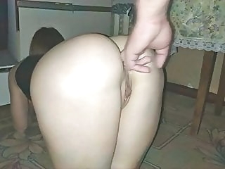 Anal Sex With a Hot Neighbor amateur anal close-up video