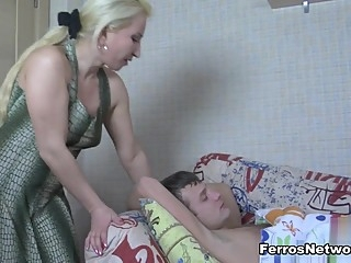 MomsGiveAss Movie: Ottilia A and Jerry anal bbw blonde video
