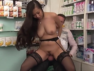 Sharon Lee to the drugstore anal asian big ass video