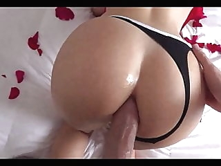 Anal Squirting Orgasm on Valentine Day 2020 Big Natural Tits amateur anal blowjob video